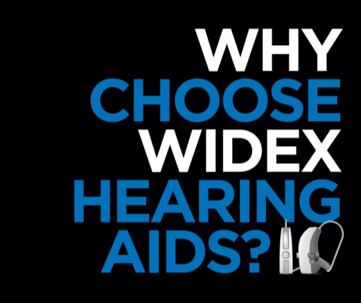 why choose widex hearing aids logo